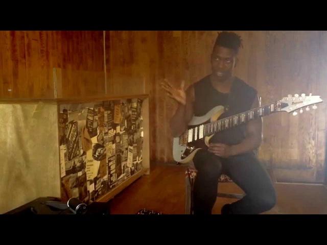 Guitar Lesson: Tosin Abasi - Slap technique