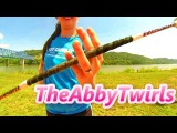 4 Finger Twirl - Novice Baton Twirling - How to Twirl a Baton - Baton Twirling Tutorial
