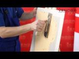 Штукатурка «КОРОЕД»: Технология нанесения - Вариант 3