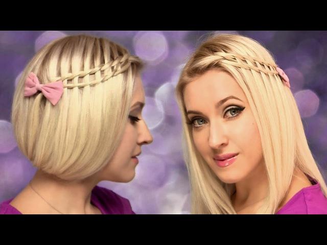 Фальшивое каре Коса лесенка ❤ Причёска на средние, короткие, длинные волосы са ...