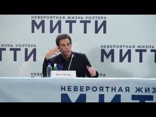Бен Стиллер не попал в Мавзолей и признался в любви к Станиславскому (Русские субтитры)