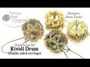 RIvoli Drum Double Sided Earrings