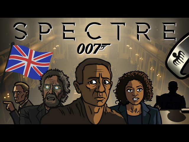 Spectre Trailer Spoof - TOON SANDWICH пародийный трейлер фильма 007: Спектр
