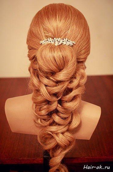 Прическа на длинные волосы (8 фото) - картинка