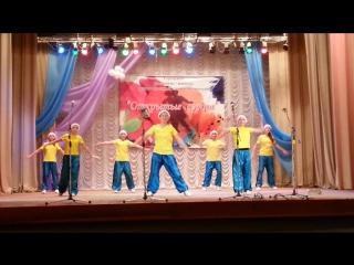 Новогодний танец -
