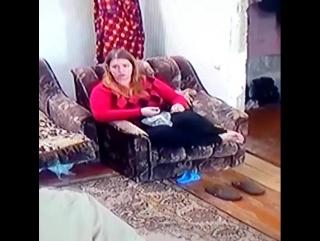 Кинула кота))