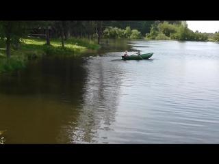 Разминка джерков перед рыбалкой.