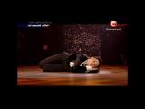 Надя Апполонова | Танцуют все - 7 (05.12.2014) | Соло в образе животного