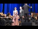 """В.А.Моцарт. Дуэт """"Ручку Церлина дай мне"""" из оперы Дон Жуан. Белослюдцев Д. Вострикова О."""