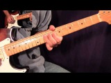 While My Guitar Gently Weeps Solo 1 - The Beatles (Clapton) - Fast and Slow