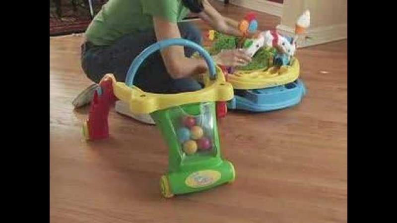 Kolcraft Baby Sit Step 2-in-1 Activity Center