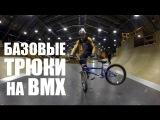 Базовые трюки на плоскаче от Димы Гордея  Школа BMX Online #5