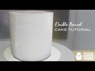 ( https://vk.com/lakomkavk) How to make a Double Barrel Cake Tutorial