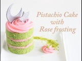 (группа vk.com/LakomkaVK) Pistachio Cake with Rose Frosting | Mini Cakes