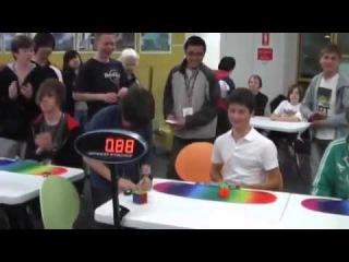 Feliks Рекорд Мира в сборке Кубика Рубика 2х2