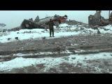 Хоругвеносцы на закладке памятной капсулы на Саур Могиле  . СПХ-ВИДЕО
