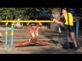 Спортивные девушки Украины _ Female Street Workout Motivation In Ukraine. Не секс sex, не порно porno