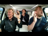 Rod Stewart A$AP Rocky Carpool Karaoke (cut)