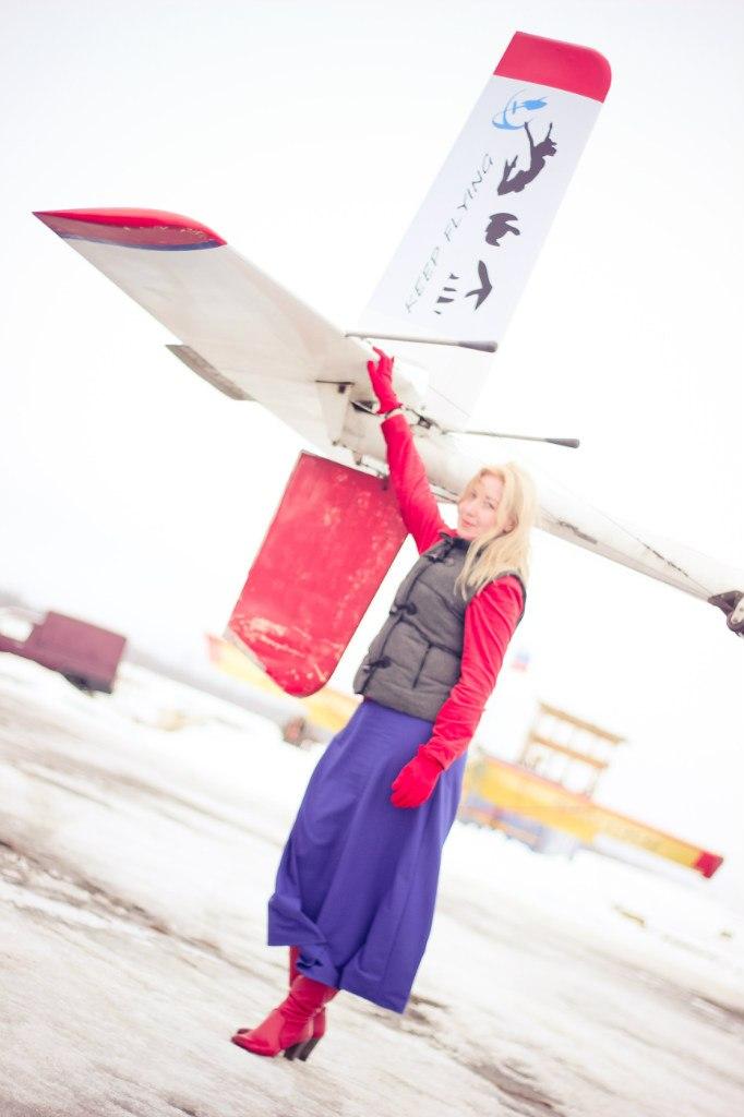 Полет на самолете - подарок на 8 марта