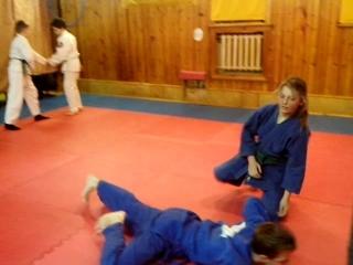 Тренировка Айкидо, '' Старт''
