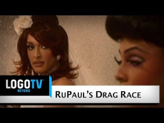 Shade#1 /RuPaul's Drag Race Season 2: Tatianna vs. Tyra Sanchez - Wedding Dress Fight - Logo TV