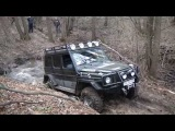 4x4 offroad hard mudding deep mud full time 4wd 4х4 Гелик vs ручеи