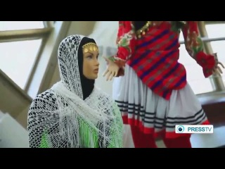 IRAN - Persian Women Clothes Expo