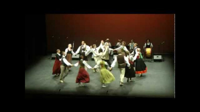 Latvian traditional folk dance Sudmaliņas Senais dancis