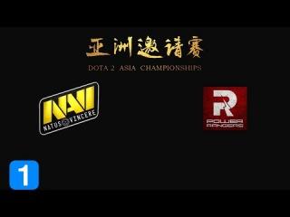 Highlights Natus Vincere vs PowerRangers - Dota 2 Asia Championship 2015