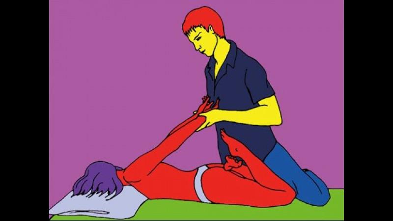 Сергей Щуревич моделирующий массаж тела Modeling body massage