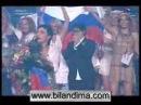 Dima Bilan victory on Eurovision 2008 победа Димы