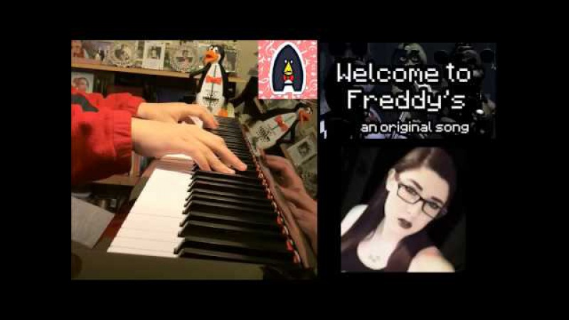 Five Nights At Freddy's Song - Welcome to Freddy's - Madame Macabre (Amosdoll Piano Cover)