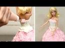 How To Decorate A BARBIE Doll Cake *Torta Muñeca Barbie