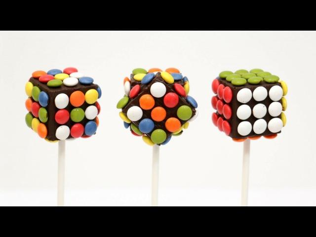 RUBICK MM Chocolate POPS How To Make by CakesStepbyStep