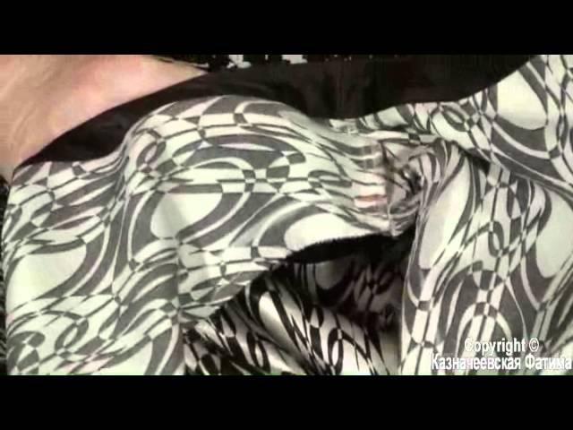 Как укоротить плечо на готовом изделии