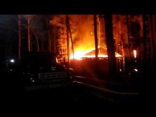 Пожар в Кулига-парке, Тюмень, 20.09.2014