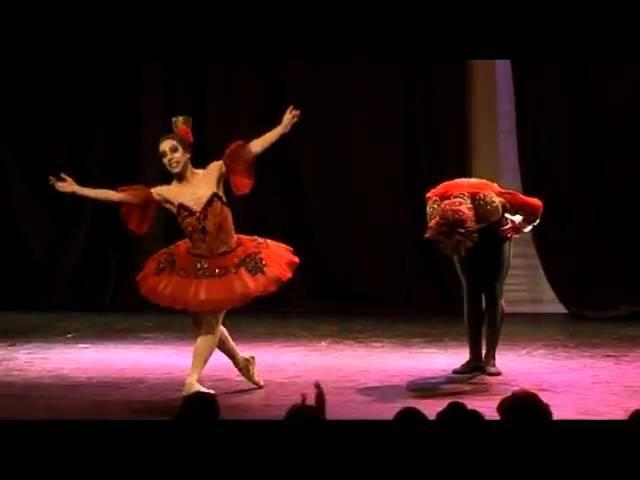 Ballet con humor. Rosamundis, Don Quijote pas de deux