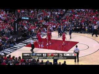 HD Memphis Grizzlies vs Portland Trail Blazers | Highlights | Game 3 | Apr 25, 2015 | NBA Playoffs