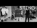 Eric Saade - Sting Behind the Scenes Lyric Video