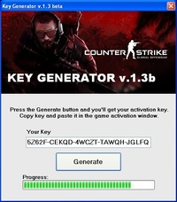counter strike activation key