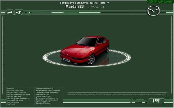 Устройство, обслуживание и ремонт Mazda 323, Мазда 323 c 1985г