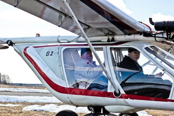 Полет на сверхлегком самолете В2 - авиклуб PiterPolet