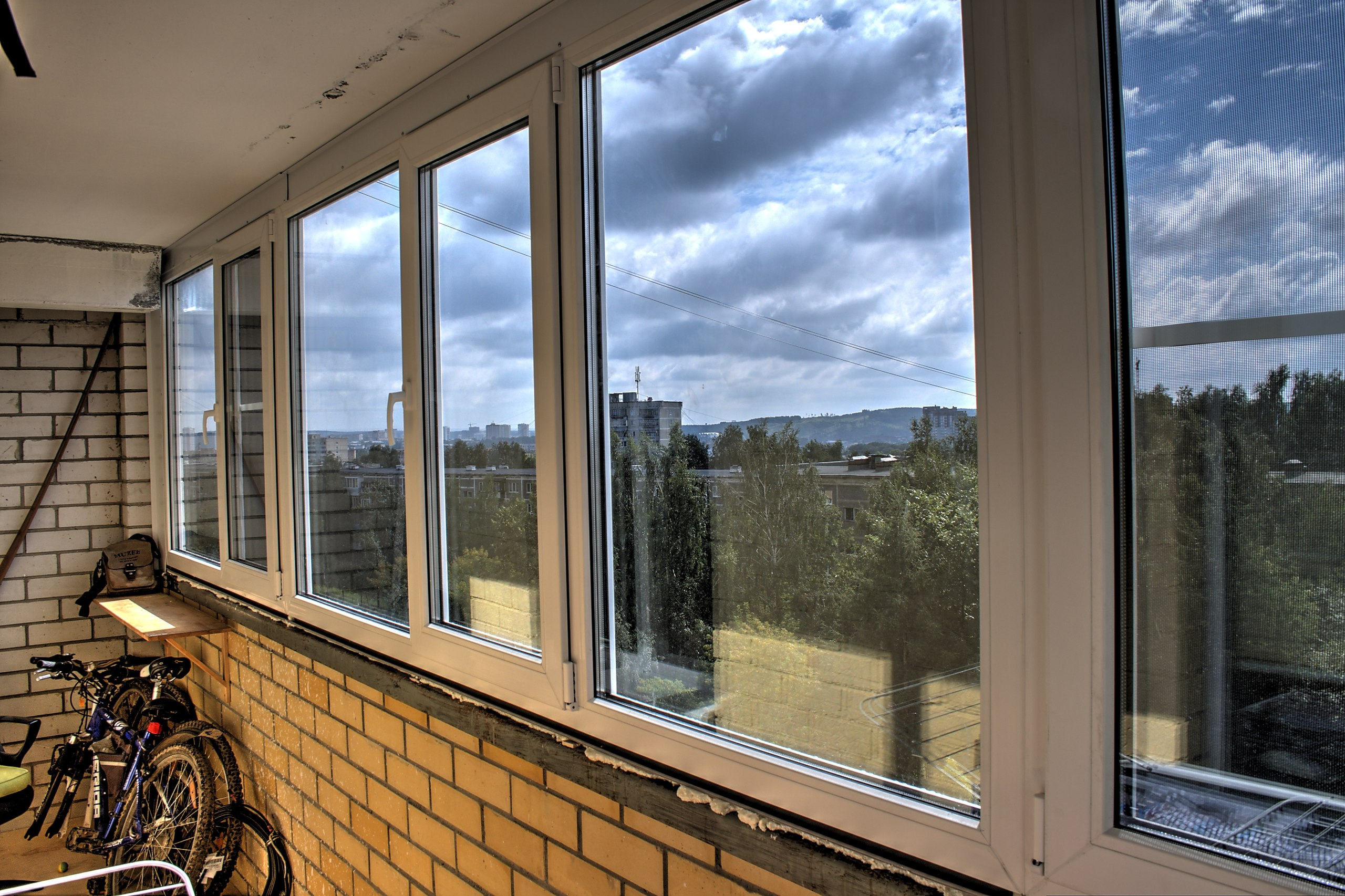 Остекление балкона п57. - отделка - каталог статей - ремонт .