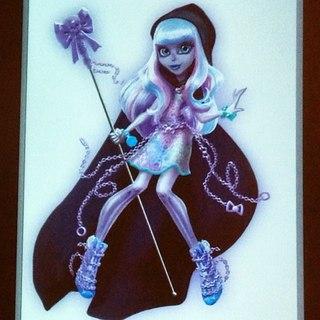 монстр хай куклы дочь лохнесского чудовища