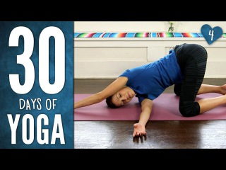 Yoga For Your Back - 30 Days of Yoga - Day 4