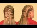 Оригинальная Прическа Разновидность Колоска Видео 2013 Original Hairstyle a kind of spikelets