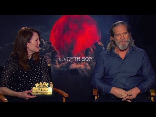 Jeff Bridges, Julianne Moore & Ben Barnes - Seventh Son Interviews (MADE IN HOLLYWOOD)