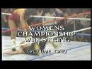 Best of WCW - Women Championship Wrestling Volume 1