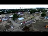 Строительство этнокультурного центра, парк Көне Тараз