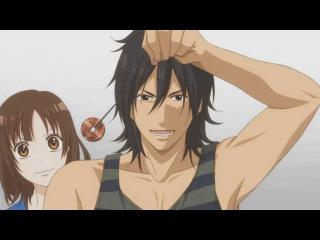 Смешной момент из аниме -Волчица и черный принц-